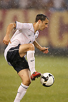 United States defender Steve Cherundolo (6). The men's national teams of the United States and Argentina played to a 0-0 tie during an international friendly at Giants Stadium in East Rutherford, NJ, on June 8, 2008.