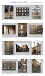 Contact Sheets for editing for a Guide Book on Britain