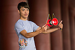 Yang Chin Yao poses for a portrait ahead the Red Bull PAO 2015 at the National Taiwan Science Education Centre in Taipei, Taiwan. Photo by Aitor Alcalde / Power Sport Images