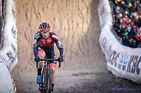 Laurens Sweeck (BEL/Pauwels Sauzen - Bingoal) in the infamous Pit <br /> <br /> CX Superprestige Zonhoven (BEL) 2019<br /> Elite & U23 mens race