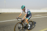Emanuel Buchmann (GER) Bora-Hansgrohe  on the final climb of Stage 3 of the 2021 UAE Tour running 166km from Al Ain to Jebel Hafeet, Abu Dhabi, UAE. 23rd February 2021.  <br /> Picture: Eoin Clarke | Cyclefile<br /> <br /> All photos usage must carry mandatory copyright credit (© Cyclefile | Eoin Clarke)