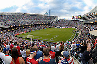 Chicago, IL - Tuesday June 07, 2016: Soldier Field during a Copa America Centenario Group A match between United States (USA) and Costa Rica (CRC) at Soldier Field.