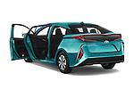 Car images close up view of 2017 Toyota PRIUS PRIME Four 5 Door Hatchback doors