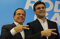 20.07.2018 - Doria anuncia deputado Rodrigo Garcia como vice em SP