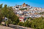 Spanien, Andalusien, Provinz Córdoba, Espejo: weisses Dorf an der Route der Kalifen   Spain, Andalusia, Province Córdoba, Espejo: pueblo blanco