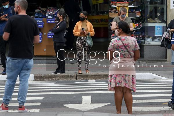 Campinas (SP), 27/08/2021 - Cidades-SP - Movimentação no centro de Campinas nesta sexta-feira (27).