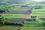 Farmland in Terry Township, Bradford County, Pennsylvanis, USA