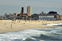 - USA, New Jersey, the beach of Asbury Park<br />