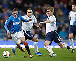 Direct play from Fraser Aird on the wing
