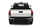 Straight rear view of a 2020 Toyota Tacoma SR5 4 Door Pick Up stock images