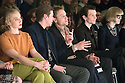 Anna Maria M�he, David Kross, Max Riemelt und Sabin Tambrea bei der Kilian Kerner Fashion Show auf der Mercedes-Benz Fashion Week Berlin Autumn/Winter 2016. Berlin, 20.01.2016