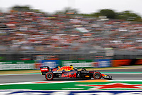 10th September, September 2021; Nationale di Monza, Monza, Italy; FIA Formula 1 Grand Prix of Italy, Free practise and qualifying for sprint race:  33 Max Verstappen NED, Red Bull Racing, F1 Grand Prix of Italy at Autodromo Nazionale Monza