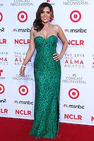 PASADENA, CA - SEPTEMBER 27: Actress Maria Canals Barrera arrives at the 2013 NCLR ALMA Awards held at Pasadena Civic Auditorium on September 27, 2013 in Pasadena, California. (Photo by Xavier Collin/Celebrity Monitor)
