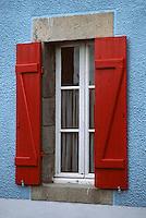 Europe/France/Bretagne/56/Morbihan/Golfe du Morbihan/Plougoumelen: Détail d'une fenêtre