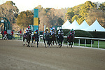 March 6, 2021: The start of the Honeybee Stakes at Oaklawn Racing Casino Resort in Hot Springs, Arkansas. ©Justin Manning/Eclipse Sportswire/CSM