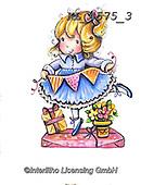 CHILDREN, KINDER, NIÑOS, paintings+++++,KL4575/3,#k#, EVERYDAY ,angel,angels ,sticker,stickers