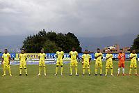 ITAGÜI - COLOMBIA, 03-03-2021: Itagüi Leones F. C. y Llaneros F. C. durante partido de la fecha 9 por el Torneo BetPlay DIMAYOR 2021 en el estadio Metropolitano de Itagüi en la ciudad de Itagüi. / Itagüi Leones F. C. and Llaneros F. C.  during a match of the 9th for the BetPlay DIMAYOR 2021 Tournament at the Metropolitano de Itagüi stadium in Itagüi city. Photo: VizzorImage / Juan A. Cardona / Cont.