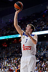 Real Madrid's Luka Doncic during Turkish Airlines Euroleague match between Real Madrid and Crvena Zvezda Mts Belgrade at Wizink Center in Madrid, Spain. March 10, 2017. (ALTERPHOTOS/BorjaB.Hojas)