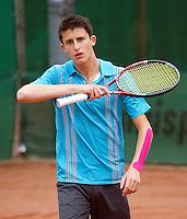 10-08-11, Tennis, Hillegom, Nationale Jeugd Kampioenschappen, NJK, Daan Maasland