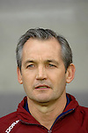 International Friendly match between Wales and Scotland at the new Cardiff City Stadium : Scotland Manager George Burley.