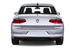 Straight rear view of a 2020 Volkswagen Passat Style Business 4 Door Sedan stock images