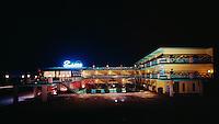 Satellite Motel, Wildwood, NJ - 1960's Night Exterior