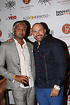 NYC Celebrity Hair Stylist Mark De Alwis Envivo with Alex Hermoso ENvivo Magazine launch party  NYC Celebrity  Hair Stylist Mark De Alwos