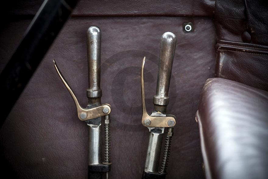 11/11/19 - SAINT GERMAIN LEMBRON - PUY DE DOME - FRANCE - Essais HURTU Type V4X de 1910 - Photo Jerome CHABANNE