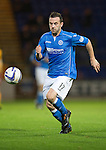 St Johnstone v Motherwell....31.10.14   SPFL<br /> James McFadden<br /> Picture by Graeme Hart.<br /> Copyright Perthshire Picture Agency<br /> Tel: 01738 623350  Mobile: 07990 594431