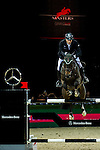Marc Houtzager of Netherlands riding Baccarat in action during the Hong Kong Jockey Club Trophy competition as part of the Longines Hong Kong Masters on 13 February 2015, at the Asia World Expo, outskirts Hong Kong, China. Photo by Victor Fraile / Power Sport Images