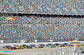 Monster Energy NASCAR Cup Series<br /> The Advance Auto Parts Clash<br /> Daytona International Speedway, Daytona Beach, FL USA<br /> Sunday 11 February 2018<br /> Austin Dillon, Richard Childress Racing, Dow Chevrolet Camaro and Denny Hamlin, Joe Gibbs Racing, FedEx Express Toyota Camry<br /> World Copyright: Nigel Kinrade<br /> LAT Images