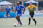 Citi All Stars (in blue) vs SCC Tigers (in yellow) during their Masters Tournament match, part of the HKFC Citi Soccer Sevens 2017 on 27 May 2017 at the Hong Kong Football Club, Hong Kong, China. Photo by Marcio Rodrigo Machado / Power Sport Images