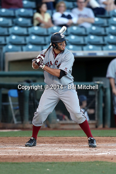 Jose Vizcaino Jr - 2014 Santa Clara Broncos (Bill Mitchell)