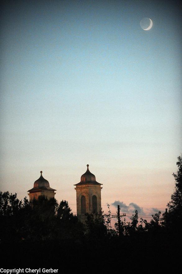 Moon over Marigny Opera House