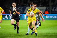 Tawera KERR BARLOW of Stade Rochelais during the Top 14 match between Bayonne and La Rochelle at Stade Jean Dauger on October 9, 2020 in Bayonne, France. (Photo by Pierre Costabadie/Icon Sport) - Stade Jean Dauger - Bayonne (France)