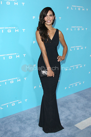 HOLLYWOOD, CA - OCTOBER 23: Nadine Velazquez at the Los Angeles premiere of 'Flight' at ArcLight Cinemas on October 23, 2012 in Hollywood, California. © mpi21/MediaPunch Inc.