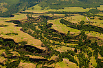 Aerial View of Rowena Dell in Oregon