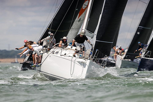 RORC racing is expecting to returns to the Solent with the 2021 RORC Spring Series Photo: Paul Wyeth