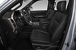 Front seat view of 2018 Ford Expedition XLT 5 Door SUV Front Seat  car photos