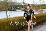 Listowel Emmetts Ladies Fundraiser: Rebecca Stapleton, captain Listowel Emmett's ladies football team out for a run ahead of the club's 10K run on Sunday 28th February in aid of the front line workers in our hospitals.