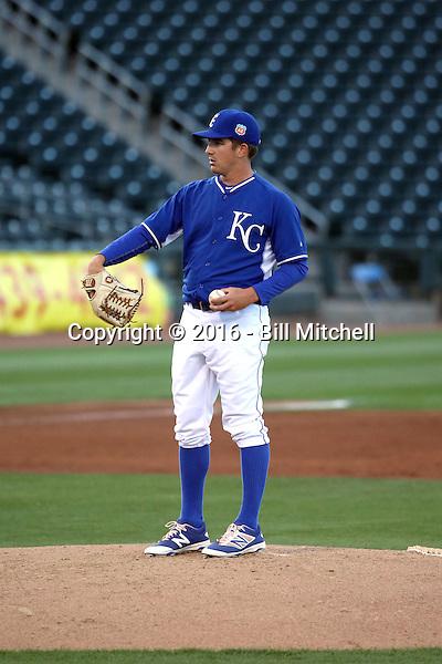 Jonathan Dziedzic - Kansas City Royals 2016 spring training (Bill Mitchell)