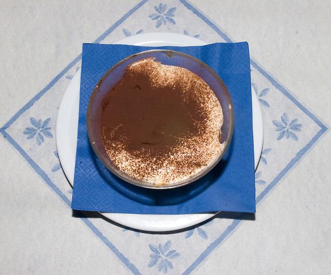Dessert, Dante Restaurant, Florence, Tuscany, Italy