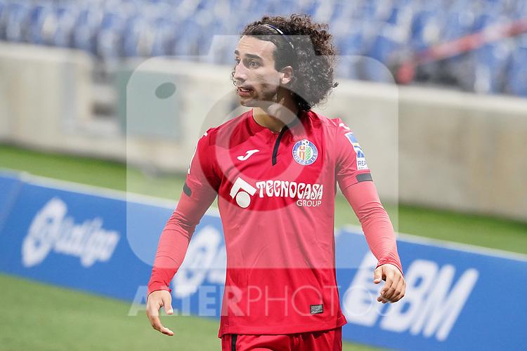 Getafe CF's Marc Cucurella during La Liga match. October 3, 2020. (ALTERPHOTOS/Acero)