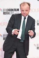 """Toby Jones<br /> arriving for the London Film Festival 2017 screening of """"Journey's End"""" at the Odeon Leicester Square, London<br /> <br /> <br /> ©Ash Knotek  D3320  06/10/2017"""