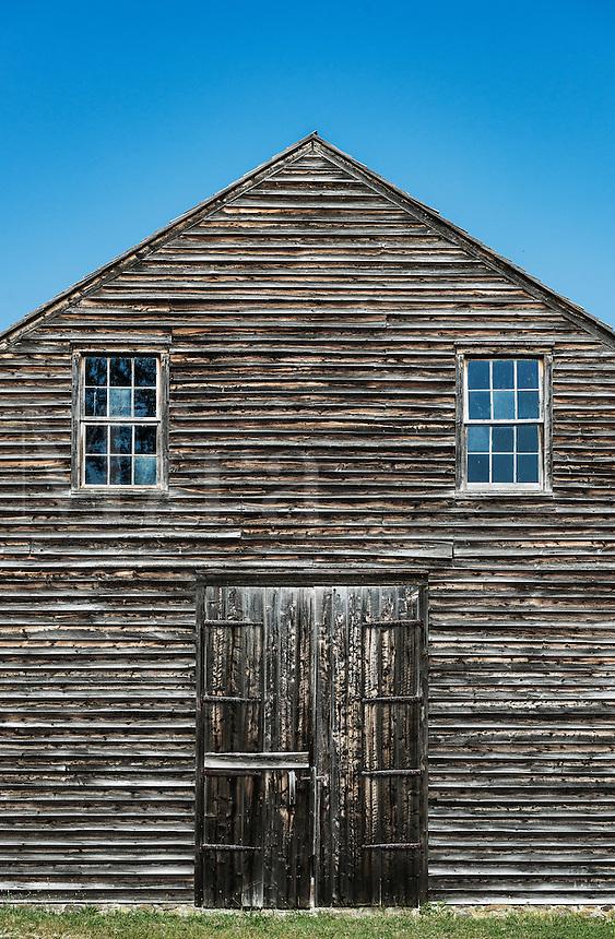 Barn, Historic Batsto Village, Wharton State Park, Pine Barrens, New Jersey, USA