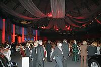 Blick in den Ballsaal der Festhalle