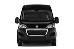 Car photography straight front view of a 2017 Peugeot Boxer l2h2-extended 4 Door Combi Front View