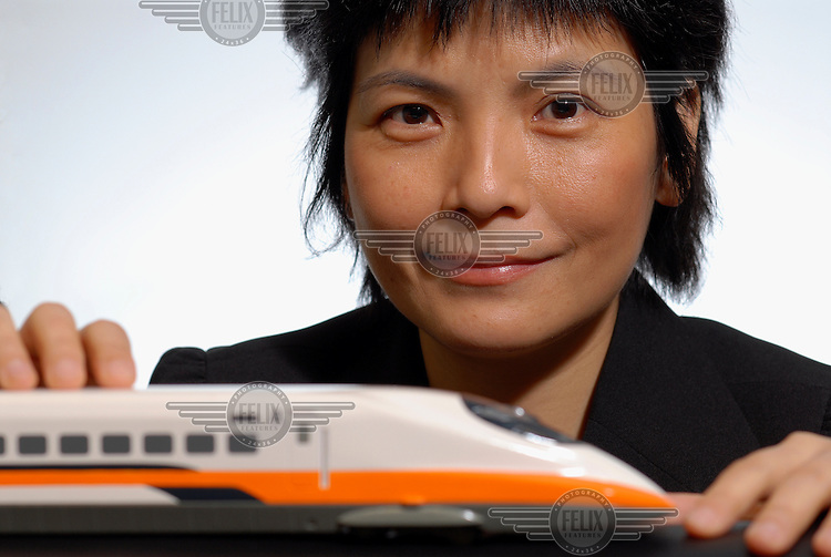 Rae Chung, Vice President of Taiwan High Speed Rail (HSR) Corporation. The recently completed Bullet Train system speeds the length of the country, a distance of around 400km, in two hours, reaching speeds of 300kmph.
