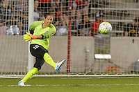 Chicago, IL - Wednesday Sept. 07, 2016: Nicole Barnhart during a regular season National Women's Soccer League (NWSL) match between the Chicago Red Stars and FC Kansas City at Toyota Park.