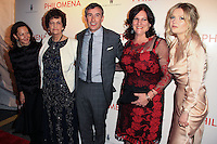 """NEW YORK, NY - NOVEMBER 12: Philomena Lee, Steve Coogan, Jane Lee, Sophie Kennedy Clark at the New York Premiere Of The Weinstein Company's """"Philomena"""" held at Paris Theater on November 12, 2013 in New York City. (Photo by Jeffery Duran/Celebrity Monitor)"""